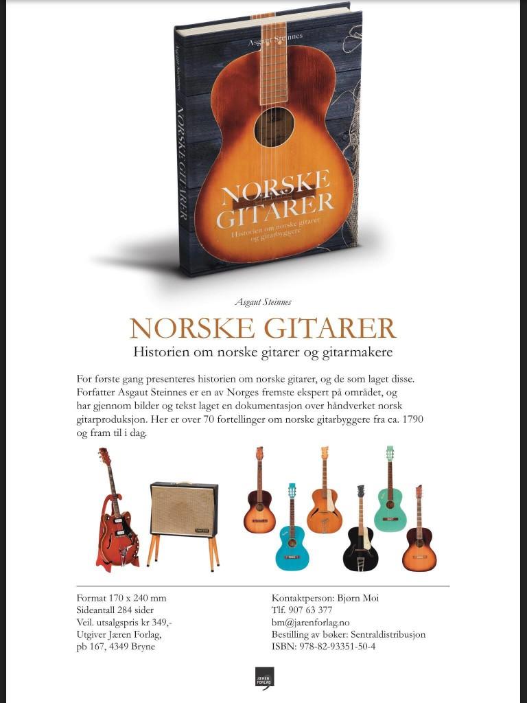 Norske gitarer faktaark